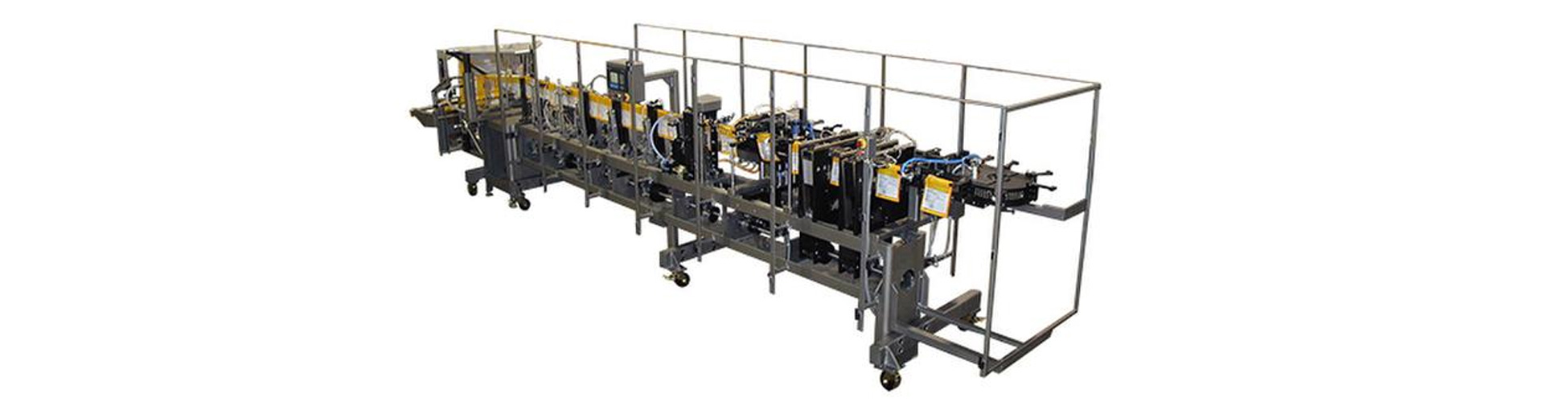 HFFS Dual Clamp Flexible Pouch Packaging Machine