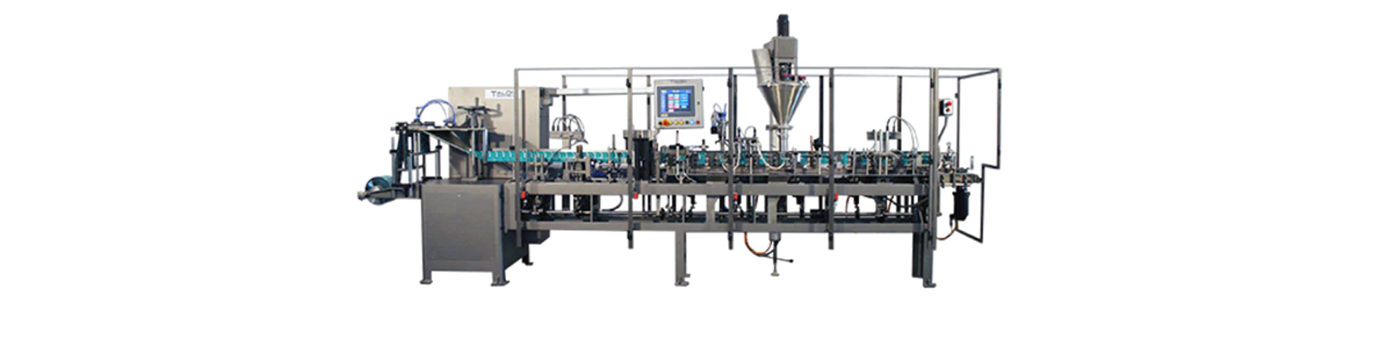 HFFS Single Clamp Flexible Pouch Packaging Machine