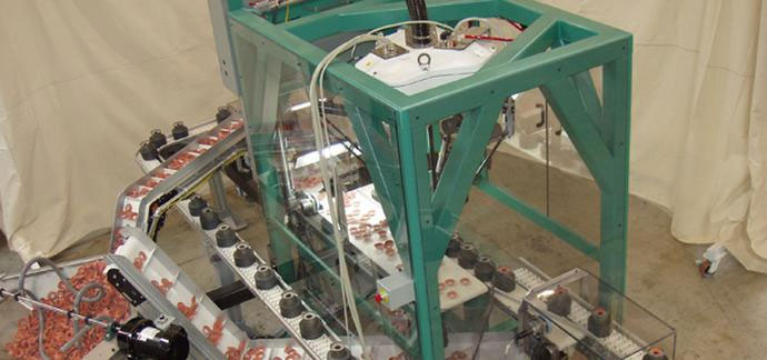 High Speed Robotic Vision Sorting & Assembly Systems